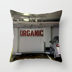 For Wooden Farm Wagons O… Throw Pillow