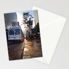 Bus on 16th Street Stationery Cards