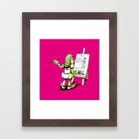 Web Design Framed Art Print