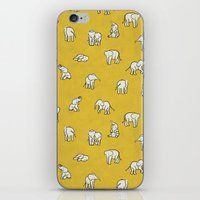Indian Baby Elephants iPhone & iPod Skin