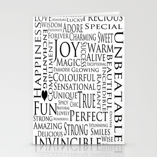 You Are All Of This And More!. Stationery Card