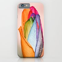 iPhone & iPod Case featuring The Rainbow Rose by Creativemind06