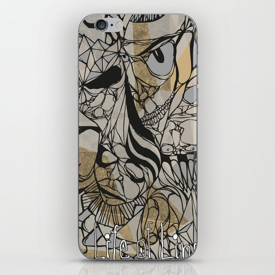 Life of Lines iPhone & iPod Skin
