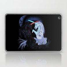 Starwars with unicorns (black) Laptop & iPad Skin