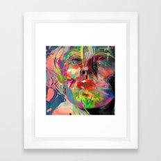 Lyka Framed Art Print