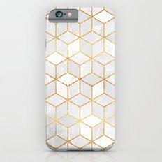 White Cubes iPhone 6 Slim Case