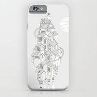 iPhone & iPod Case featuring Homemadespaceship by SpazioC
