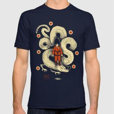 dbz Mens Fitted Tee Navy SMALL