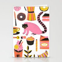 Super Coffee lovers set Stationery Cards