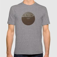 Los Angeles, I'm Yours Mens Fitted Tee Athletic Grey SMALL