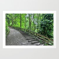Walk in the Park Art Print