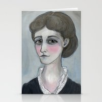 The Age of Wharton, Literary Portrait Stationery Cards