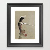 [I.Ortega] Framed Art Print