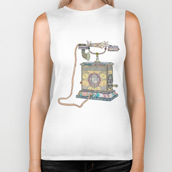 waiting for your call since 1896 Biker Tank