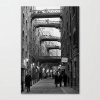 In Between  Canvas Print