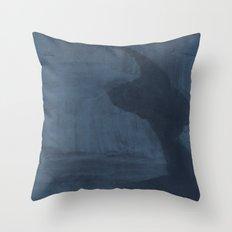Glacier / Artic Night Throw Pillow