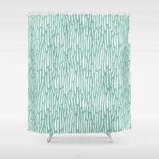 Jungle Stripes Shower Curtain