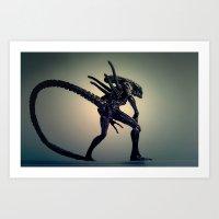 The Xenomorph Art Print