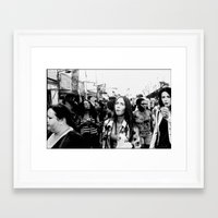 Foire du Trône, Paris 2014 Framed Art Print