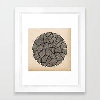 - the bird - Framed Art Print