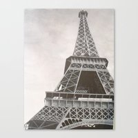 Untitled (Eiffel Tower) Canvas Print