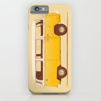 movie iPhone & iPod Cases featuring Yellow Van by Florent Bodart / Speakerine