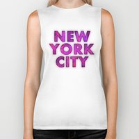 New York City - Color Biker Tank