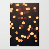 Christmas Lights II Canvas Print
