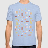 Searching for a House Mens Fitted Tee Tri-Blue SMALL