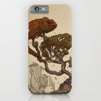 iPhone Cases featuring Autumn Chameleons  by Eric Fan