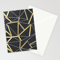 Ab 2 Silver and Gold Stationery Cards