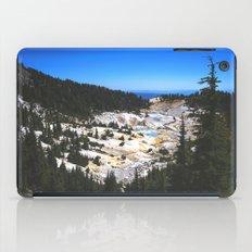 Bumpass Hell Pass Lassen Volcanic National Park iPad Case