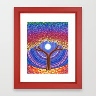 Secret Life Of Trees Framed Art Print