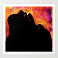 I Am The Volcano Where I Was Born Art Print