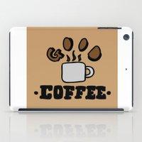 good coffee iPad Case
