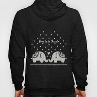 Love Elephants Hoody