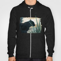 Skelly Cat In The Grass Hoody