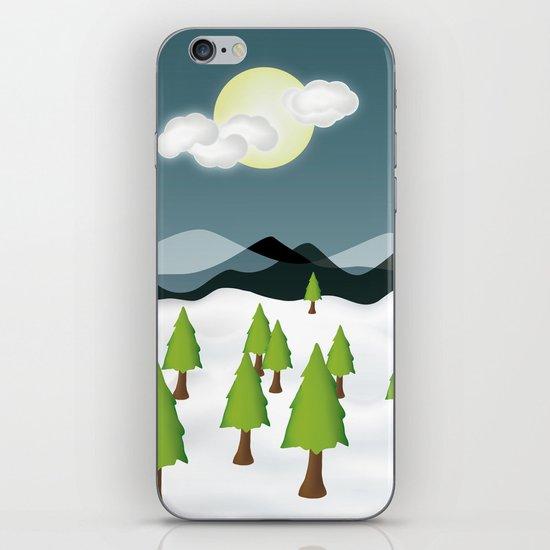 Midnight Isolation iPhone & iPod Skin