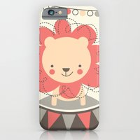 iPhone & iPod Case featuring Leo the Lion  by shiny orange dreams