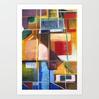 Aerial Abstraction 1A Art Print