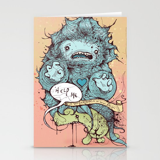 Sorry, but there is no heaven for you Stationery Card