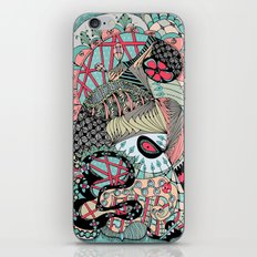 The eye looking flower iPhone & iPod Skin