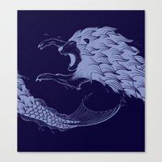 Merlion Canvas Print