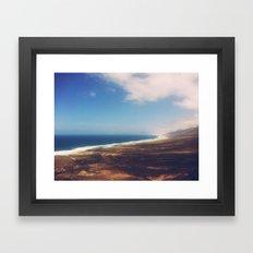 Mystical Cofete Framed Art Print