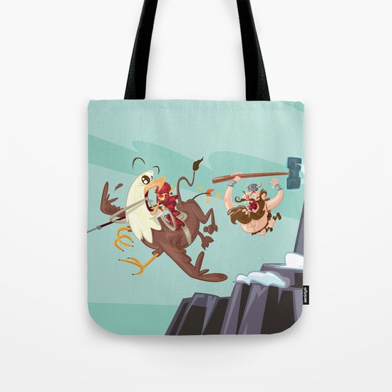 Braun Bloodstone and the Griffin Tote Bag