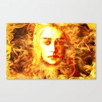 Bride Of Fire Canvas Print