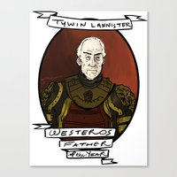 Best Mythical Dad Canvas Print