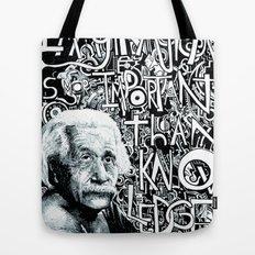 Einstein.  Tote Bag