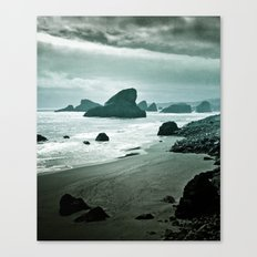 Moonlight bay Canvas Print