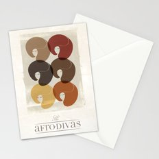 The Afro Divas Stationery Cards